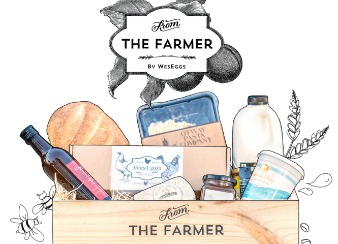 From The Farmer By WesEggs - farmgate produced delivered direct to your door!